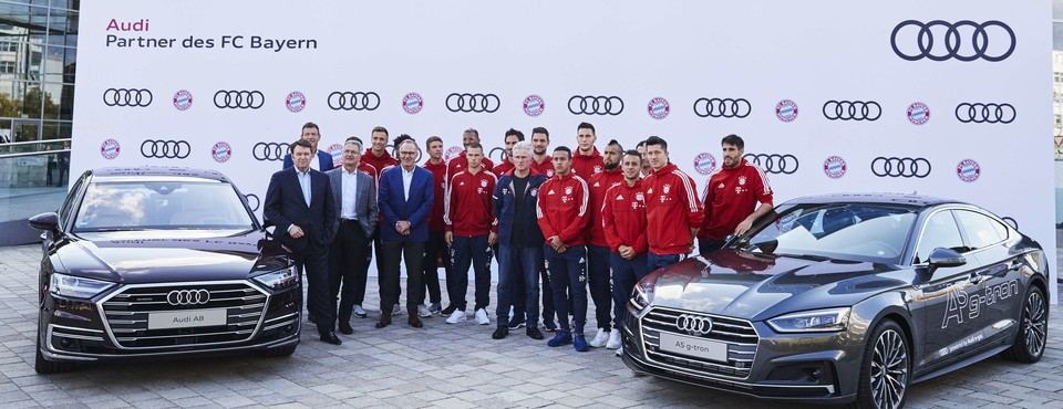 AUDI - New Audi Cars for FC Bayern Players  | Ingolstadt | 2017-10-11 - 2017-10-11