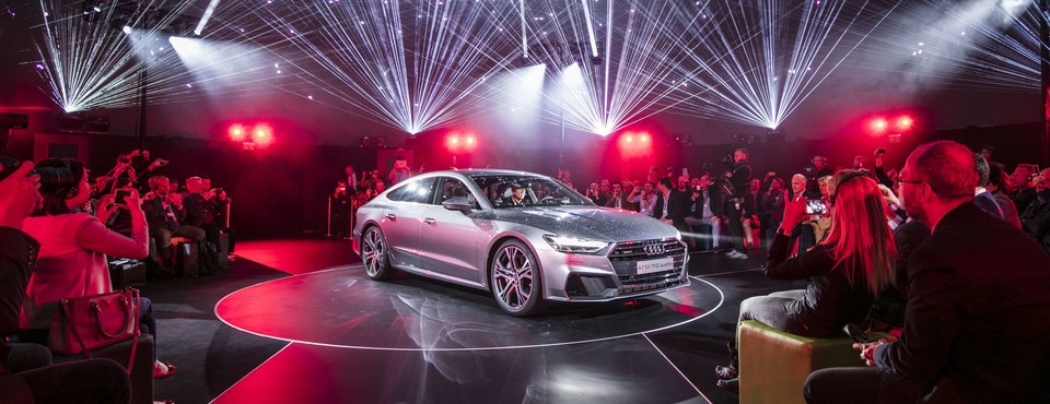 Audi A7 Sportback Weltpremiere | Ingolstadt | 19.10.2017 - 19.10.2017