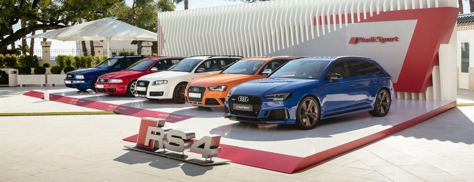 Audi RS4 Avant Pressepräsentation | Málaga | 07.12.2017 - 15.12.2017