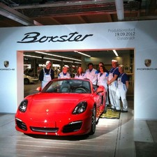 Start of Produktion Porsche Boxster | Osnabrück | 19.09.2012