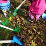 Die Krippenkinder entdecken den Herbst