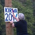 Kirwabaum aufstellen