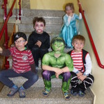Bunter Fasching im Kindergarten