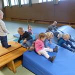 Turnen macht auch unseren Krippenkindern Spaß