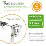 Neu bei uns: 3D Röntgendiagnostik mit moderstem Low Dose DVT PAX I3D green