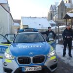 Uns besucht die Polizei