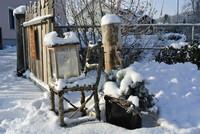 Winter in  Bayern - in der Oberpfalz - am Müllner-Hof