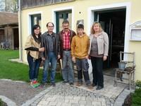 Internationale Gäste auf dem Müllner-Hof