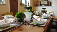 Altfalter feiert Kommunion in Schwarzach