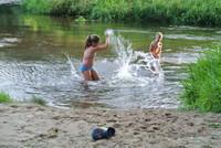 Badespaß in Schwarzach bei Nabburg