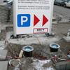 Einbau Bodenstrahler 6 m Werbepylon München