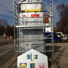 BUZ Regensburg Umarbeitung bestehender Werbestehle